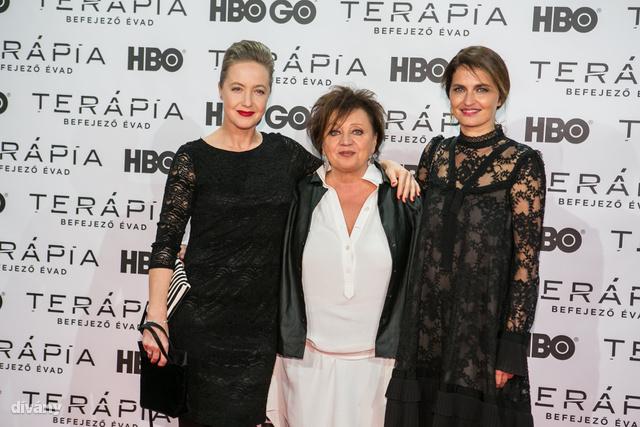Für Anikó, Csákányi Eszter és Marozsán Erika a Terápia sorozat korábbi évadaiban kaptak szerepet