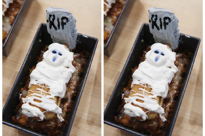 Ne dobd ki a száraz kenyeret: mutatós süti lehet belőle Halloweenre