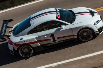 Hatszáz lóerős Audi TT Las Vegasban