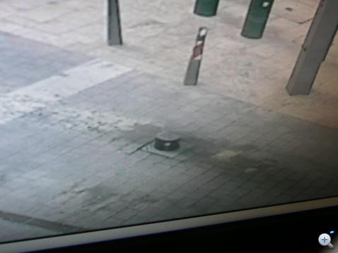 Monitoron látható a legtöbb felsült autóssal büszkélkedő oszlop körüli olajfolt