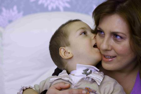 Varga Peti és édesanyja