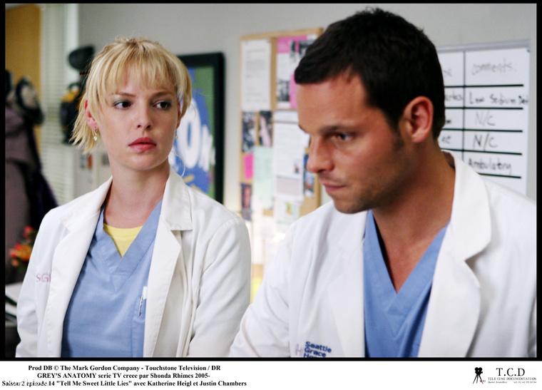 A képen látható Katherine Heigl 2005 és 2010 között volt látható a sorozatban, mint Dr