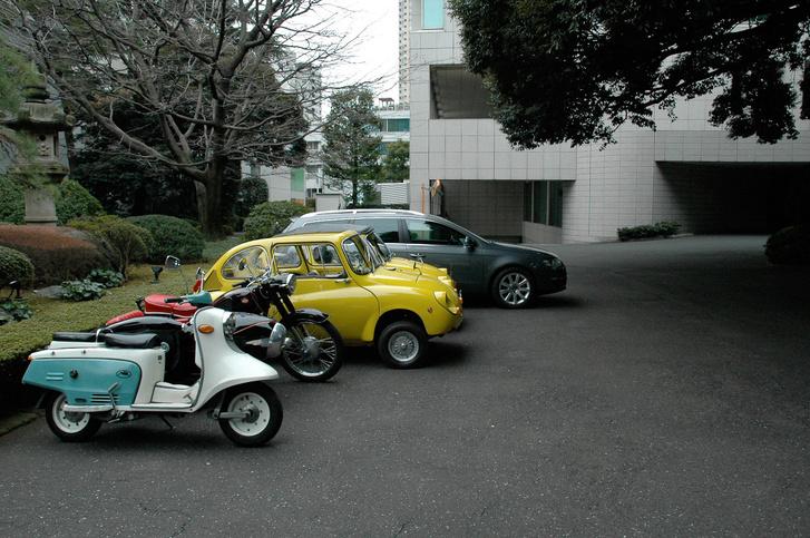 Imre munkahelyén, Tokióban a flotta
