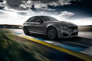 BMW M3 CS: könnyebb, gyorsabb, erősebb