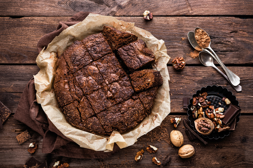 Lisztmentes csokis piskóta - Fantasztikusan puha, és az íze is csodás