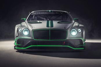 Vérbeli sportkocsi lett a Bentley Continental GT-ből
