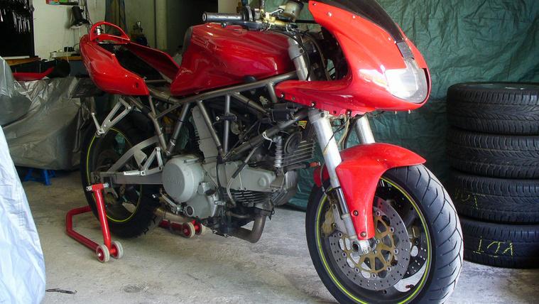 Lassan a Ducati nagykövete leszek