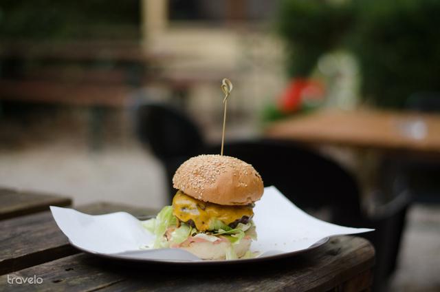 A város egyik legnagyszerűbb hamburgerezője