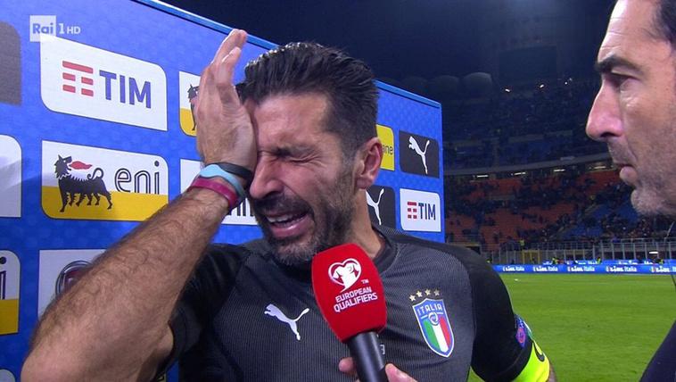 Buffon: Nem magamat sajnálom, hanem az olasz futballt