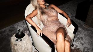 Kim Kardashian pánikol a harmadik baba miatt