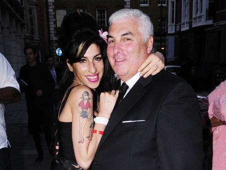 Amy Winehouse és apja, Mitch Winehouse