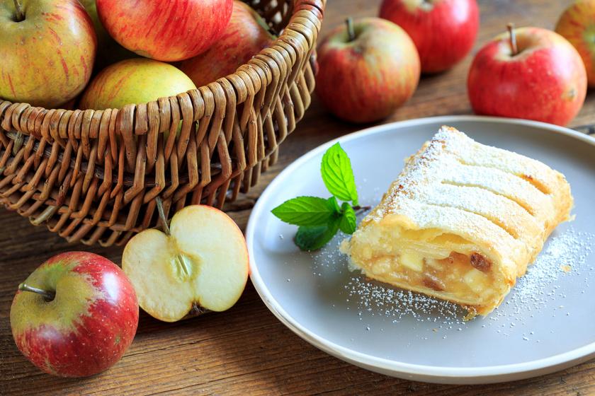 Mennyei almás rétes, ahogy Ausztriában készítik: ropogós tészta, csodás töltelék