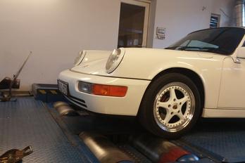 Igazi Porsche a mérőpadon