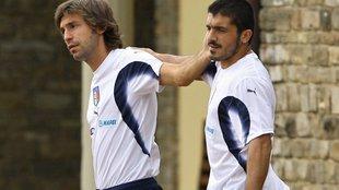 Pirlo vs Gattuso