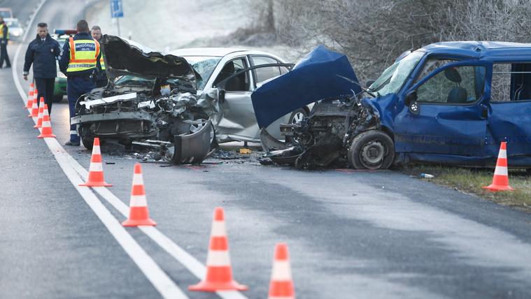 Halálos baleset volt a 7-es főút zalai szakaszán