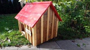 Kisméretű DIY kutyaház