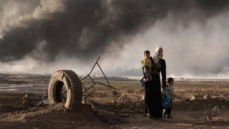 A gyerekek szenvedik meg leginkább a fejük felett indított háborúkat