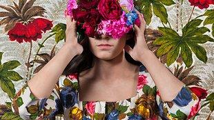 10 virágportré Polixeni Papapetrou Éden című sorozatából