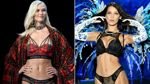 Ki volt a szexibb a VS-bemutatón: Bella Hadid vagy Karlie Kloss?