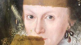 200 éves védőlakkot távolítottak el egy festményről