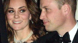 Fontos ékszer került Katalin hercegné nyakába