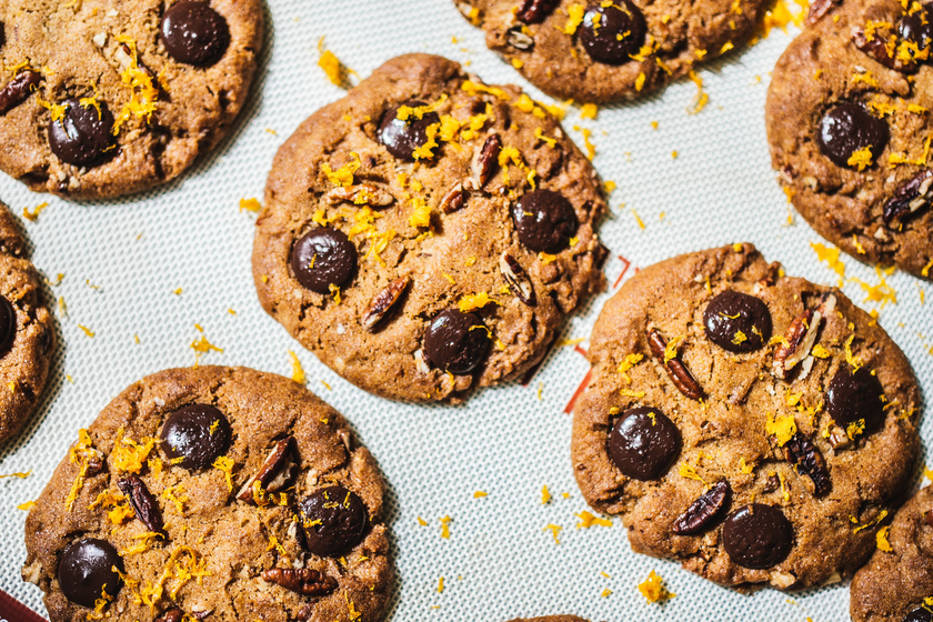 Csokis keksz, ahogy az amerikaiak csinálják - Dióval, naranccsal még finomabb