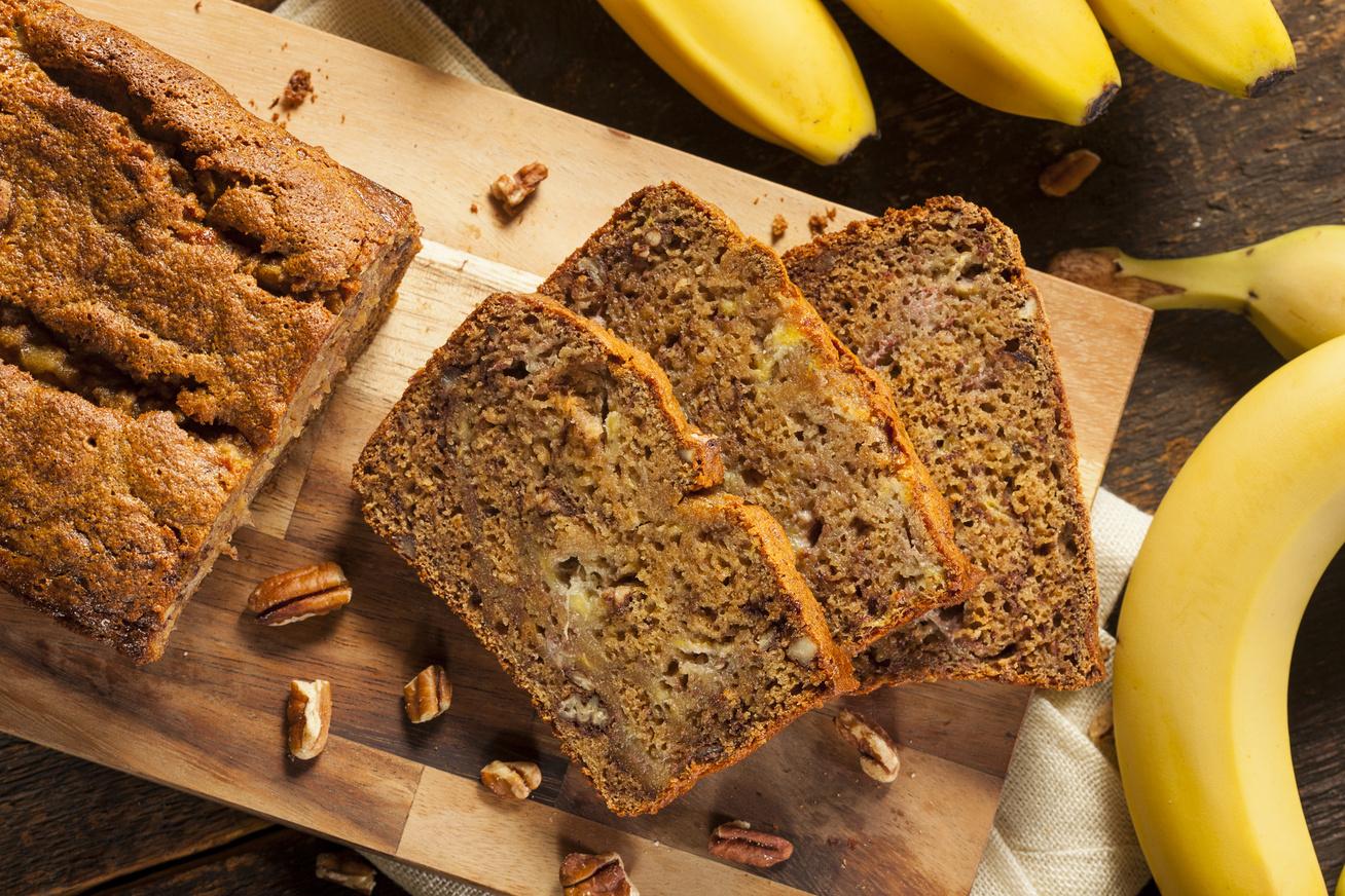 Puha, csokis banánkenyér - A legjobb gluténmentes változat