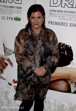 Carrie Fisher 2010 nyarán