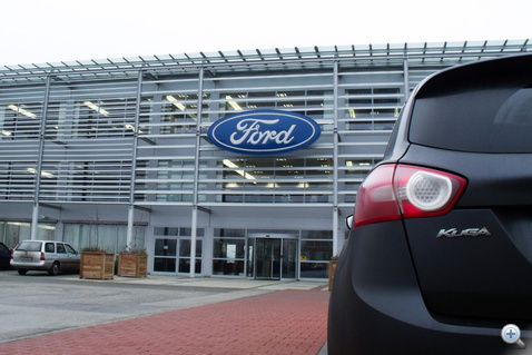 A Ford közép- és kelet európai központja.                         Világszínvonalon