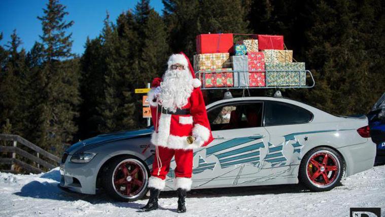 A Mikulás idén BMW-vel érkezik