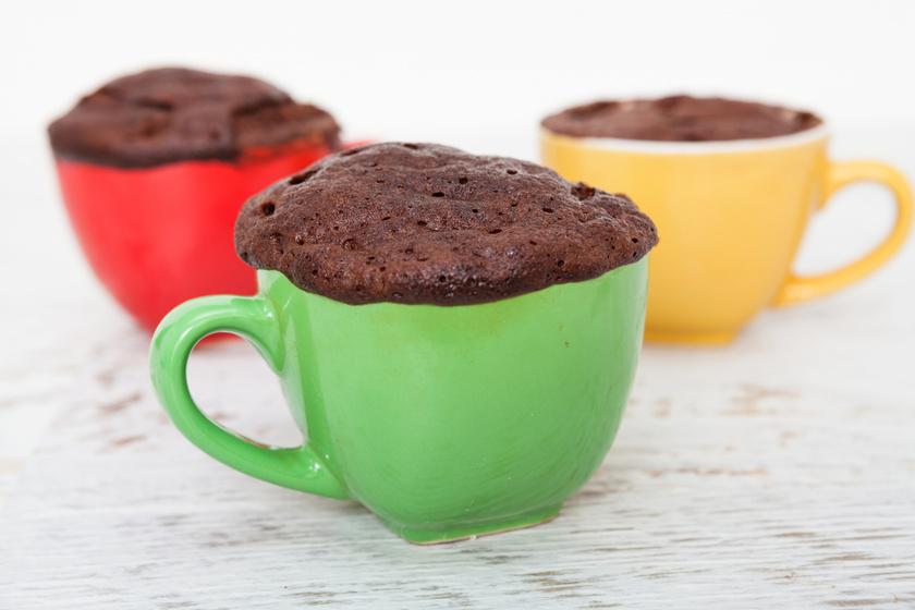 5 perces nutellás süti mikróban készítve: töményebb, mint a brownie