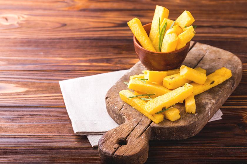 Ropogósra sült puliszkarudak: olyan, mint a hasábkrumpli, csak finomabb