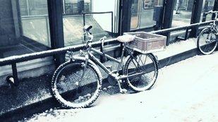 Kerékpárral télen? Jó ötlet ez?