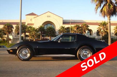 corvette sold