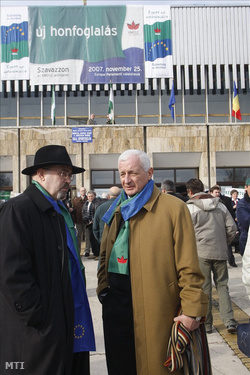 Markó Béla és Frunda György