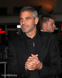 George Clooney az Up in the Air című film premierjén