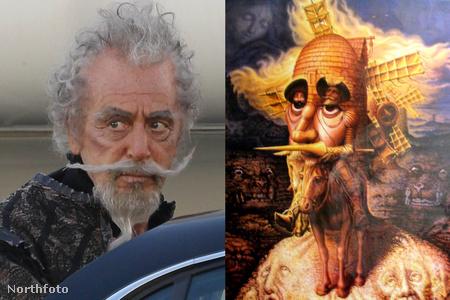 Al Pacino és Ocampo Don Quijotéja