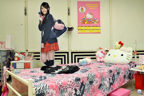 Így néz ki egy átlagos japán tinédzser szobája