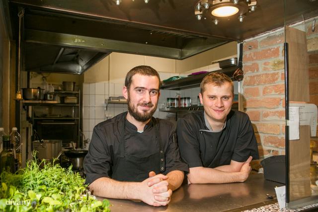Ők főzték a vacsoránkat: Szakonyi Dávid és Méri Dezső