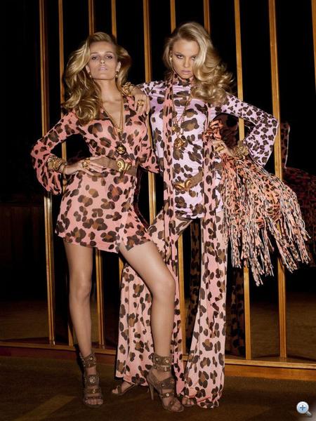 Rózsaszín alapon leopárd: a táska sem semmi.