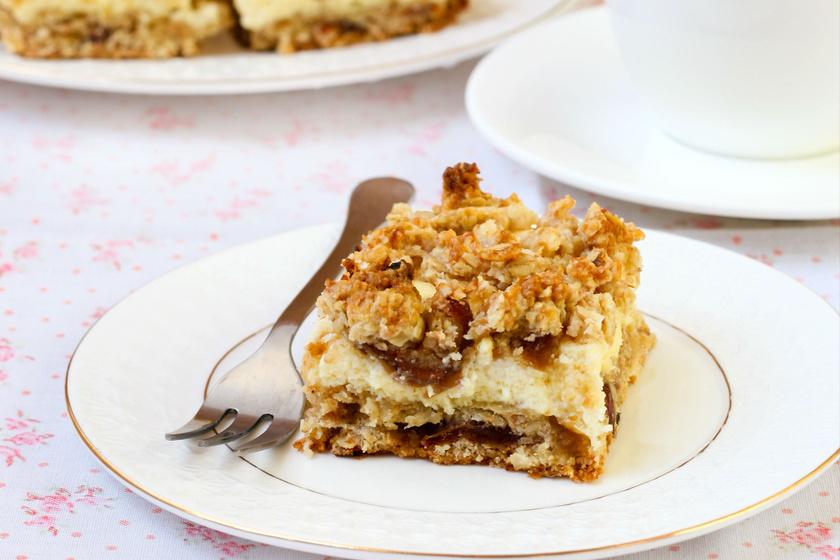 Diétás túrós-zabpelyhes süti, amivel alig van munka, mégis nagyon finom