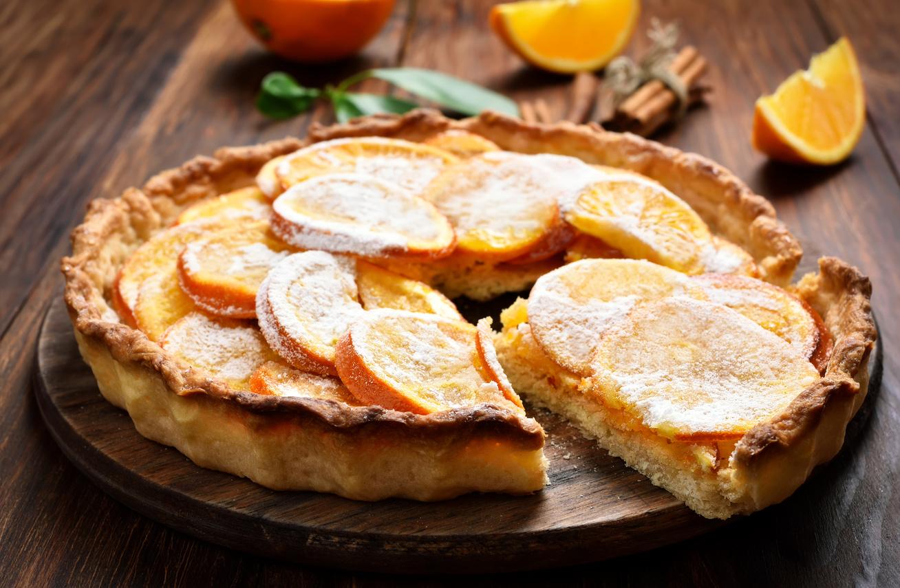 Varázslatos tésztájú, krémes, narancsos pite - Nagyon omlós a tészta