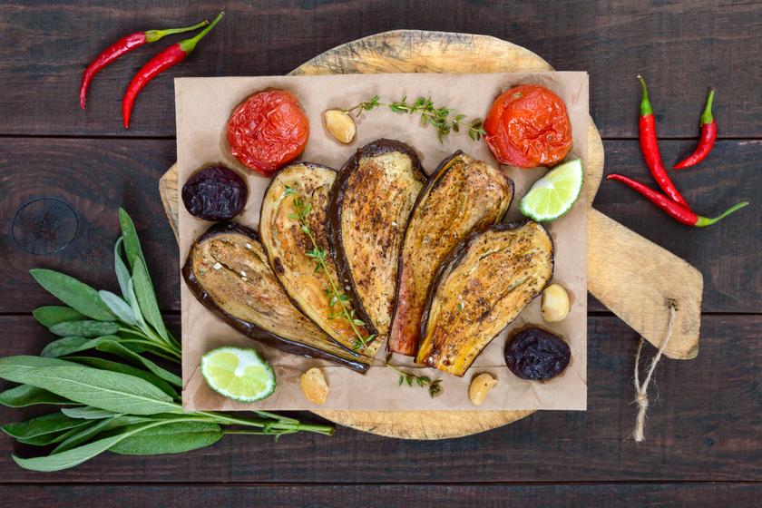 Fűszeres, sült padlizsán: karcsúsító, remek köret villámgyorsan