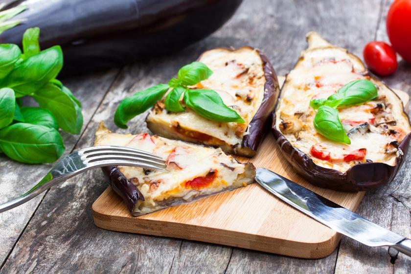 Karcsúsító zöldséges, sajtos padlizsán hús nélkül - Nincs 300 kalória egy jó adag