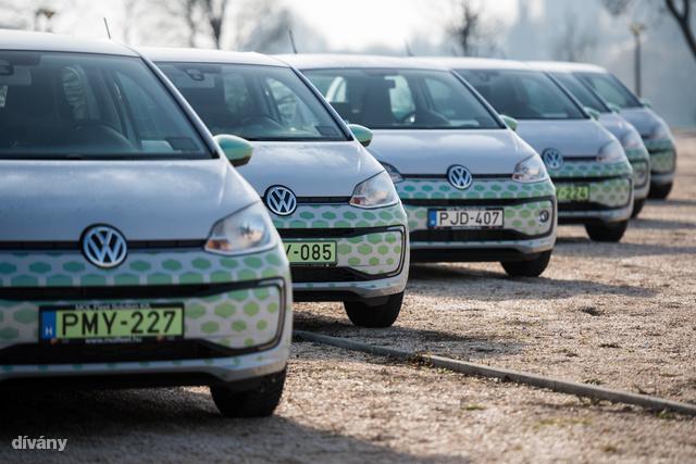 A terv az, hogy két éven belül 600 autóval lesznek jelen Budapesten.