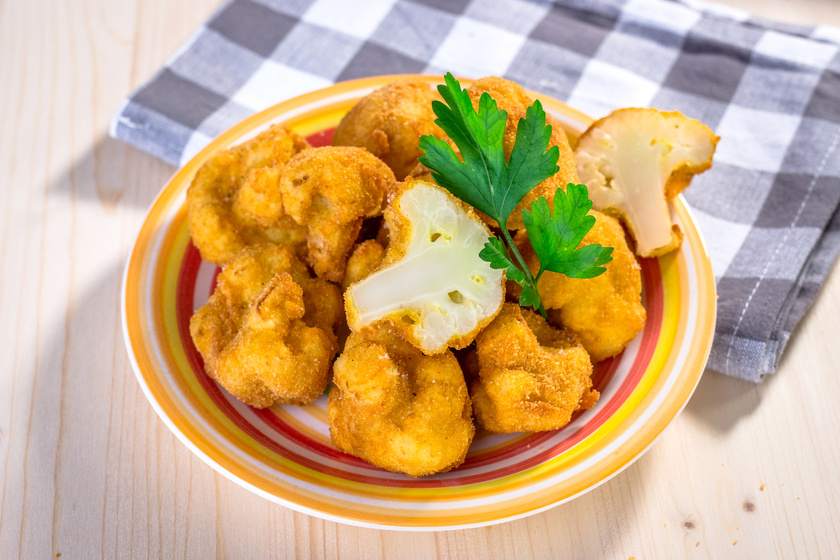 Fűszeres, sajtos rántott karfiol: így még finomabb a bunda