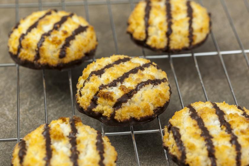 Omlós csokis, kókuszos keksz - Hetekig friss, puha marad
