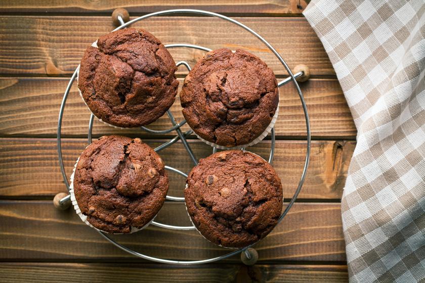 30 perces csokis-nutellás muffin - Mennyei, és percek alatt összedobható
