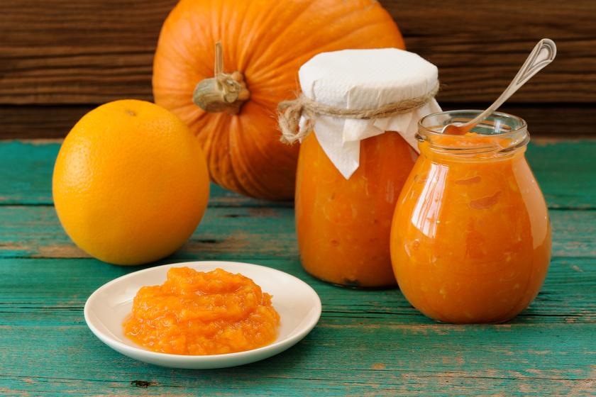Zamatos, narancsos sütőtöklekvár - Ezt főzd be télen!
