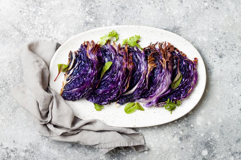 Karcsúsító, pikáns lila káposzta a sütőből - Kalória alig van benne
